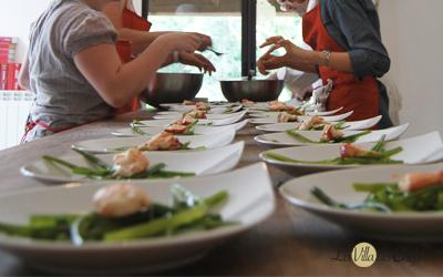 offrir un cours de cuisine la villa des chefs
