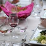 Invitations aux cours de cuisine et d'œnologie