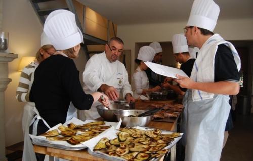 Les stages de cuisine 3 4 jours la villa des chefs for Formation cuisine gastronomique