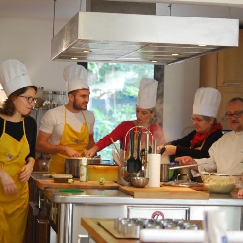 Stage de cuisine Secrets de Chefs (4 jours)
