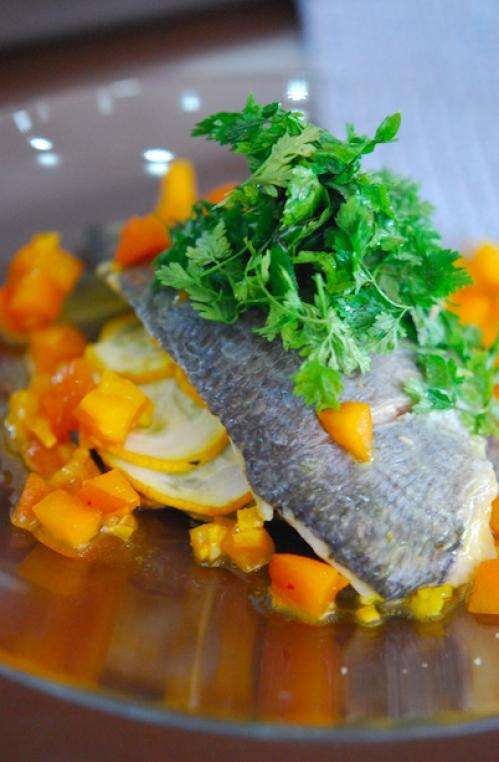 Cours de cuisine menu du chef avec dominique fr rard les - Cour de cuisine marseille ...