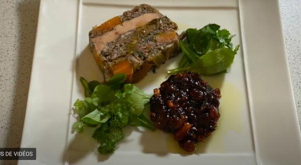 Recette filmée de LA fameuse terrine de foie gras du Chef René Bergès