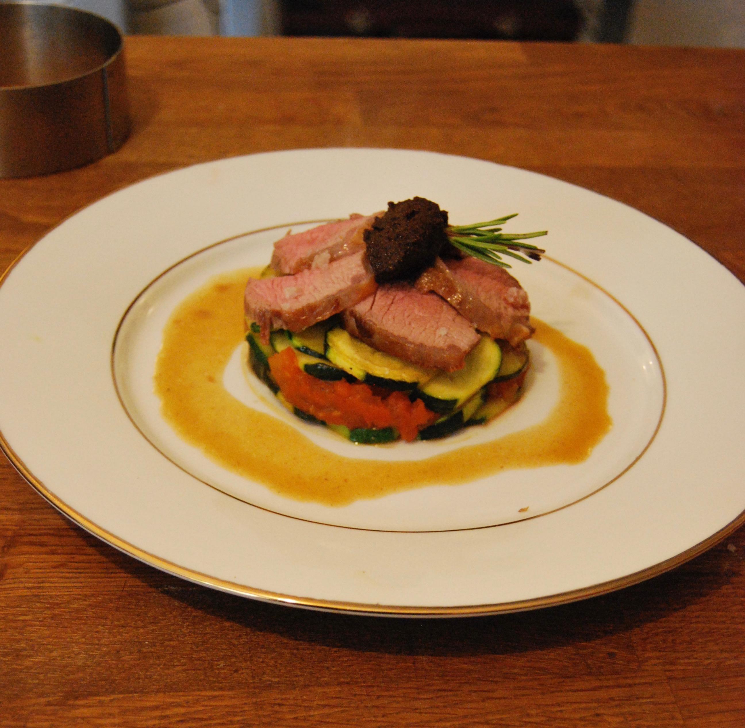 Cours de cuisine menu de prestige avec j r me faure 1 - Offrir des cours de cuisine ...